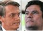 Presidente de Brasil, Jair Bolsonaro y el ex ministro de Justicia Sergio Moro.